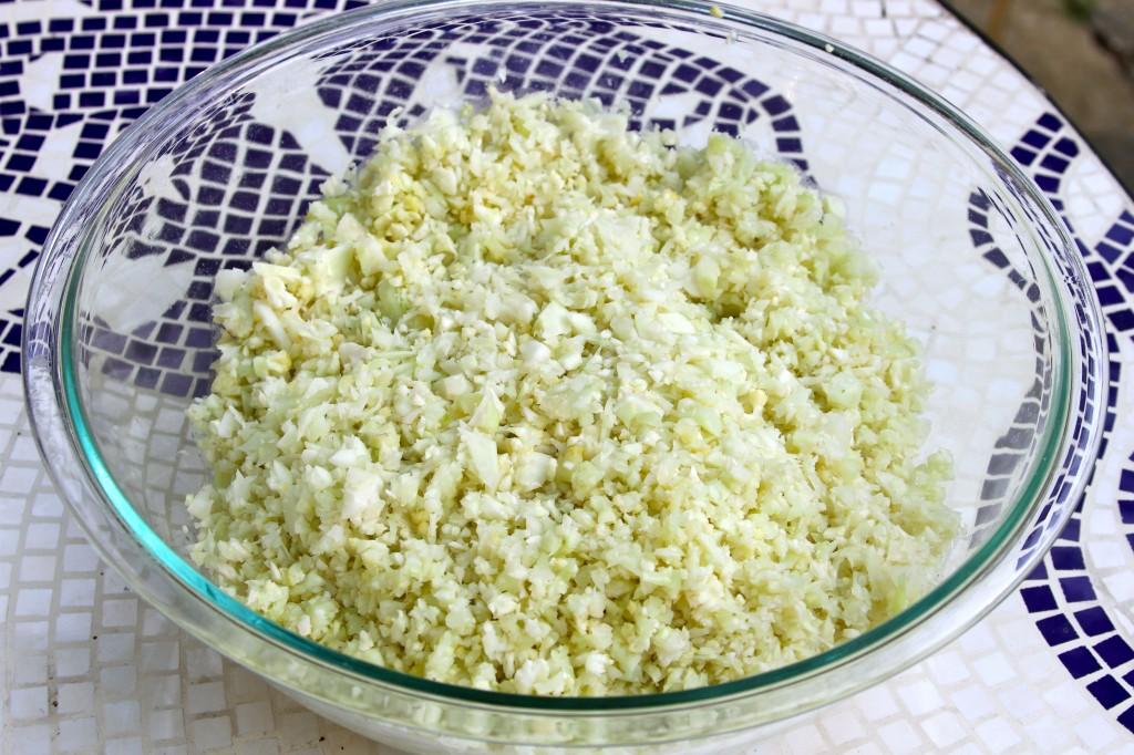 paleo cauliflower rice recipe