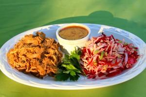 paleo pulled pork and coleslaw