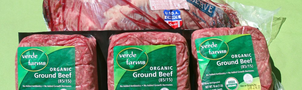 Verdi farms pastured ground beef