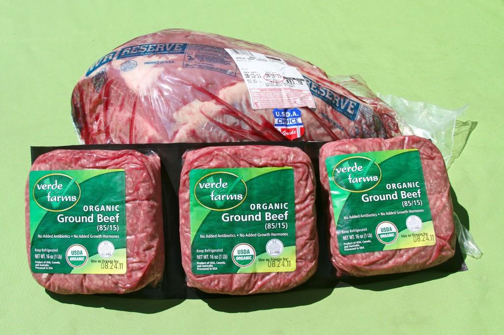 Verdi farms pastured ground beef