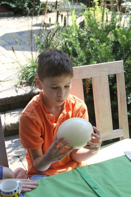 Paleo Ostrich Egg Brunch