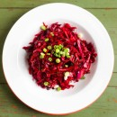 Beet and Cabbage Slaw