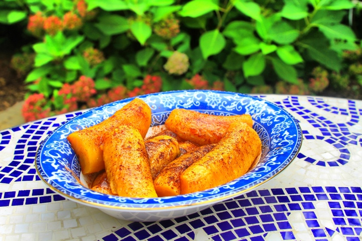 paleo dessert fried plantains