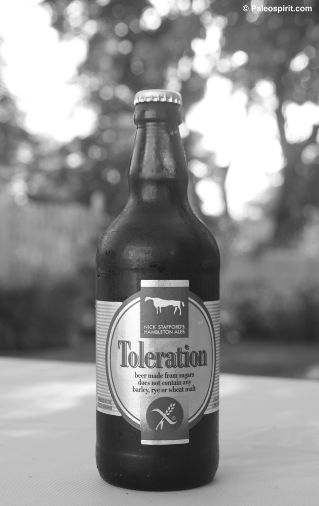 Paleo and Gluten Free Beer B&W