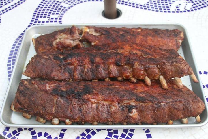 paleo dry rubbed pork ribs