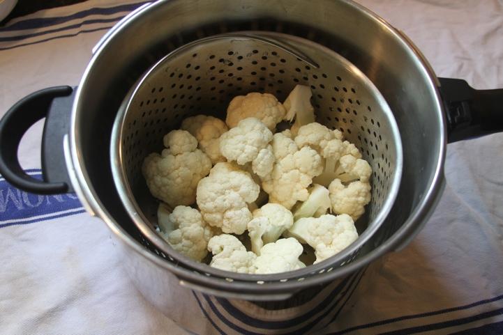 cauliflower in pressure cooker