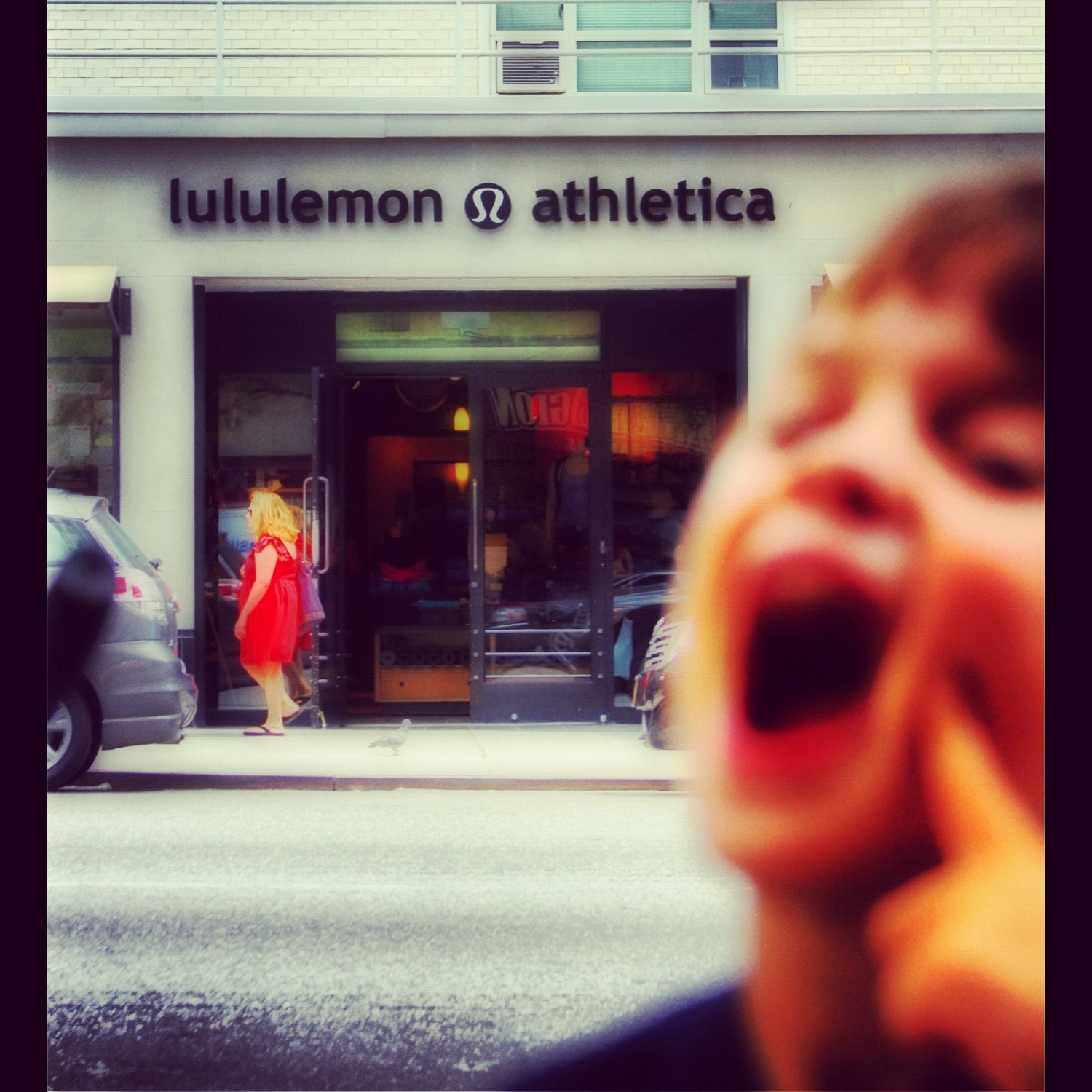 lululemon then on to the zoo