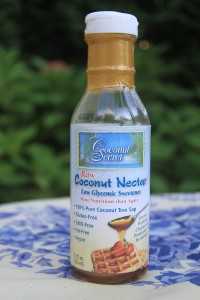 Coconut nectar for paleo