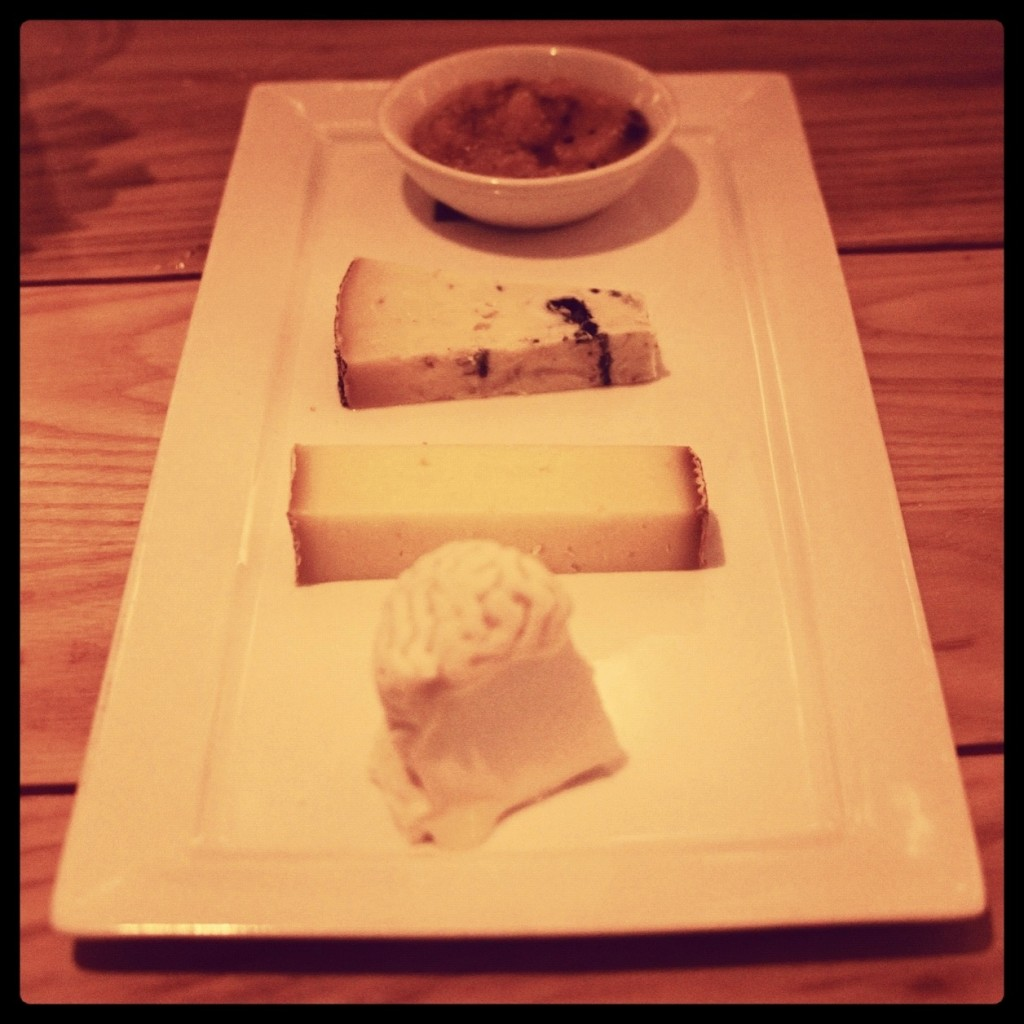 cheese plate at ma peche