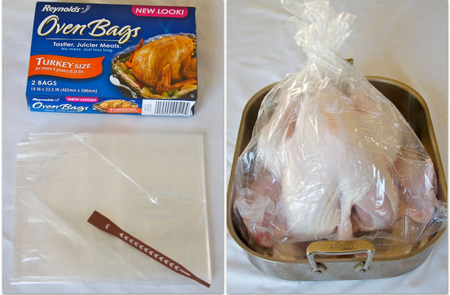Bags And Turkey In Bag