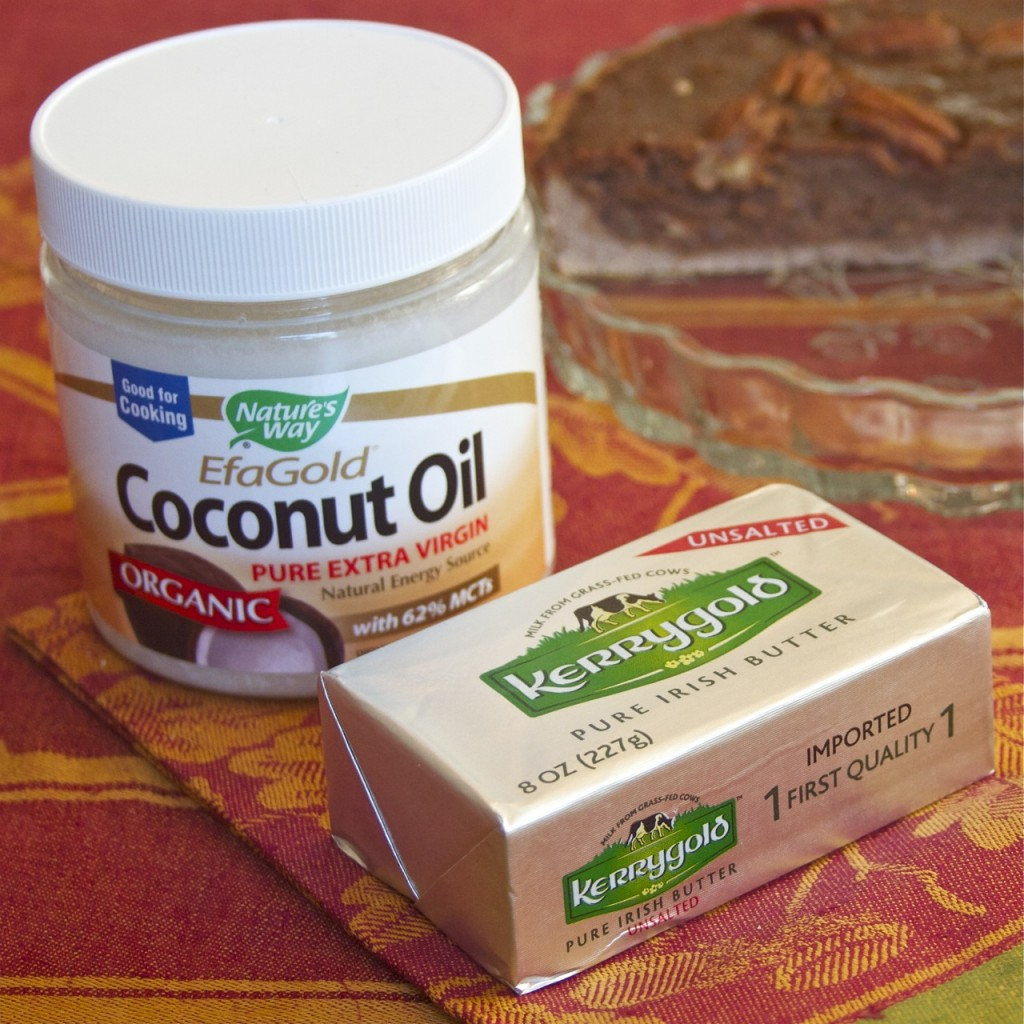 coconut oil and kerrygold butter