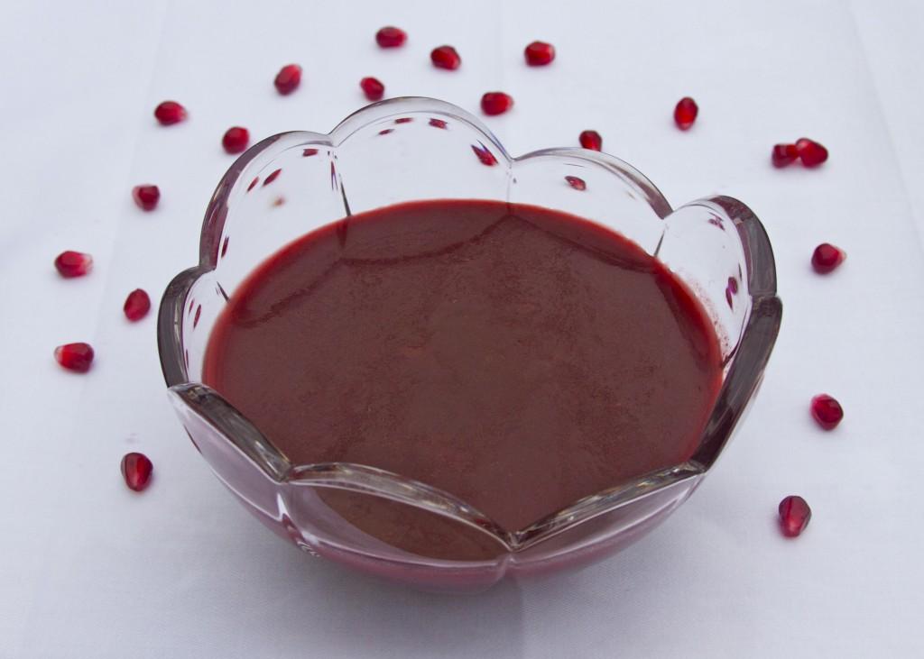 pomegranate raspberry chipotle sauce and glaze
