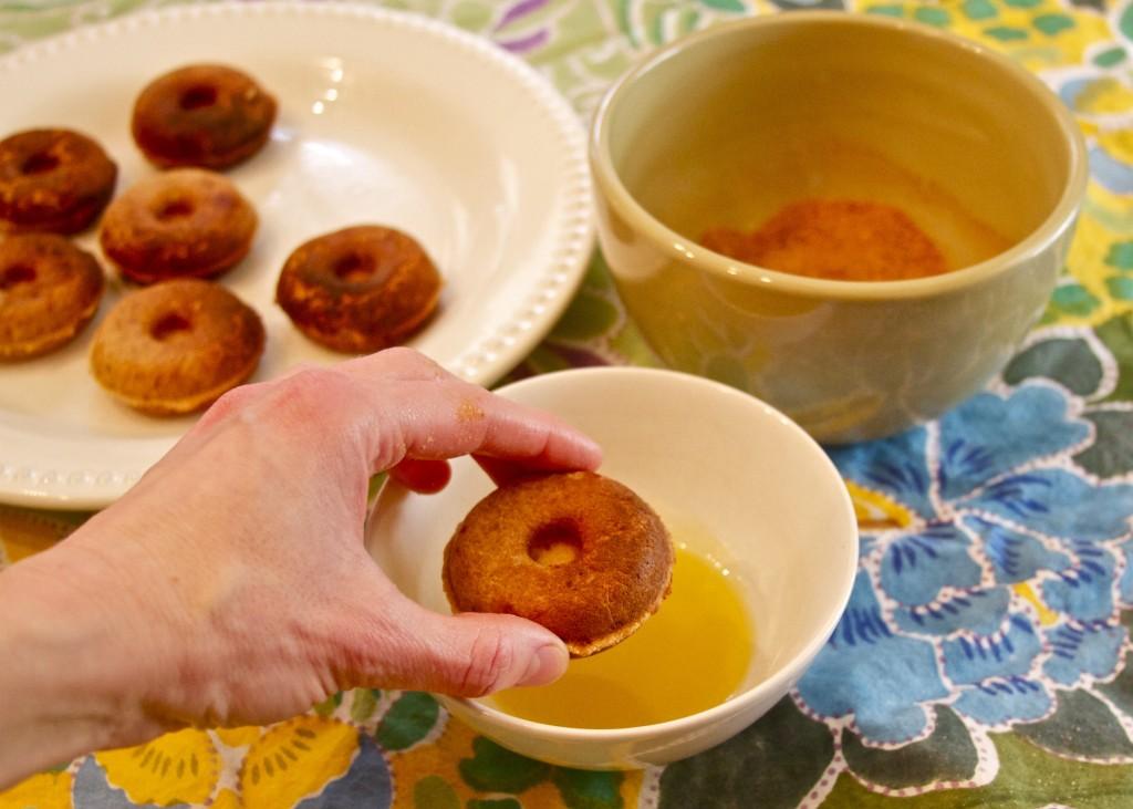 paleo donuts in ghee