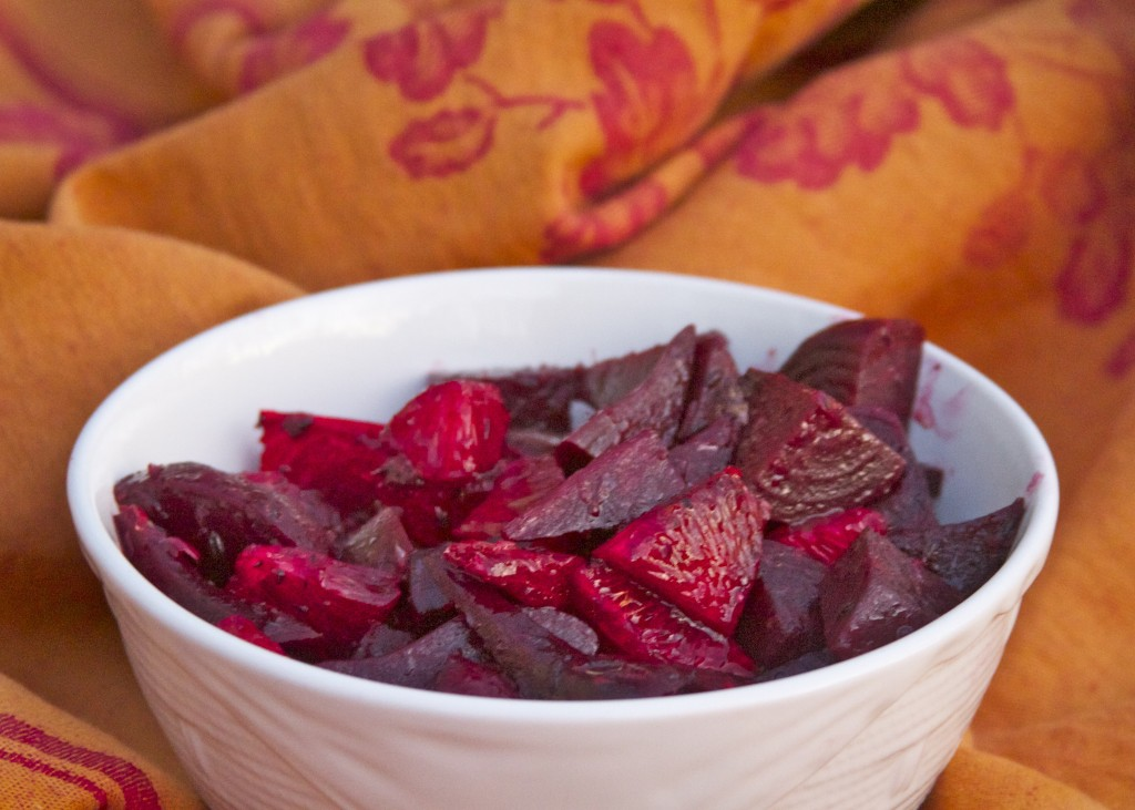 roasted beets and blood oranges