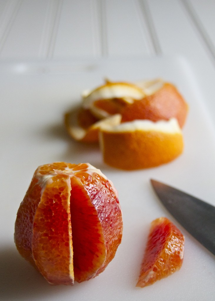 blood orange segmenting
