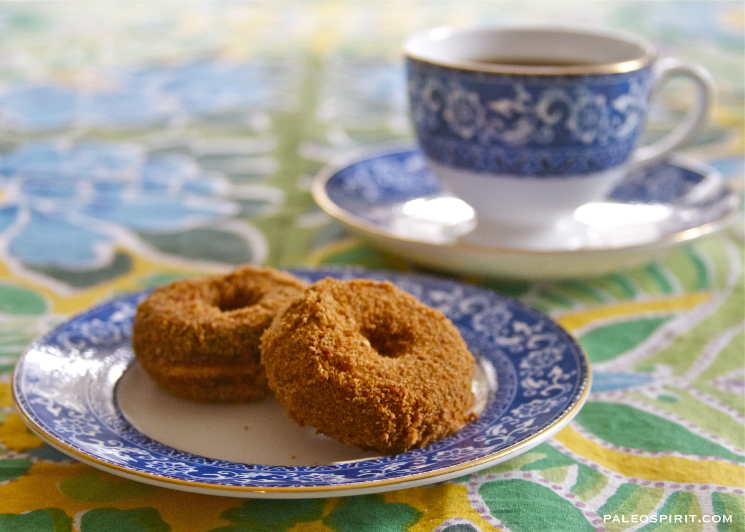 Apple Cider Paleo Donuts