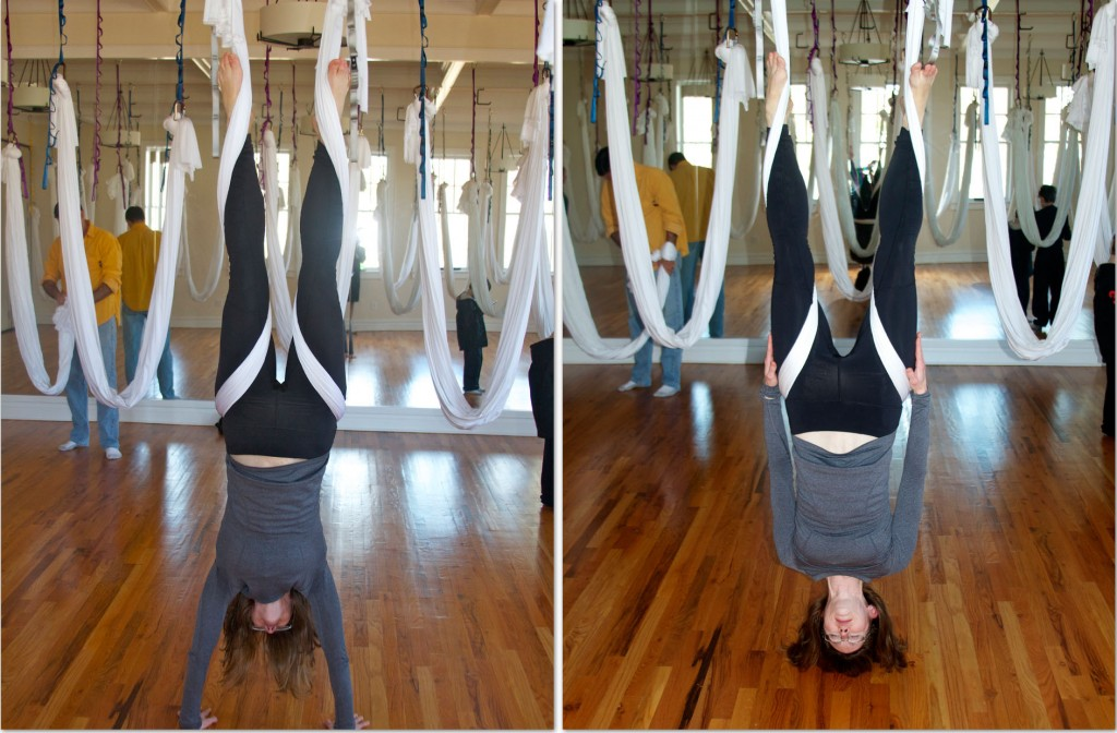 antigravity yoga inversions