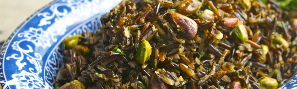 Wild Rice with Pistachios