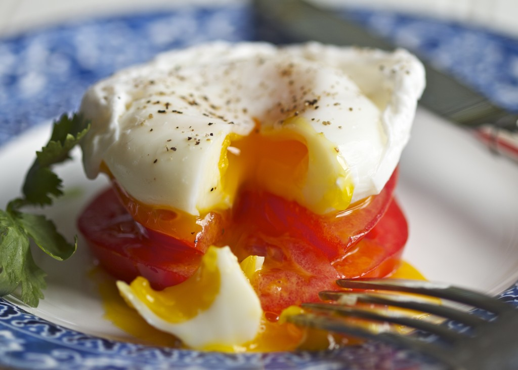 paleo poached egg