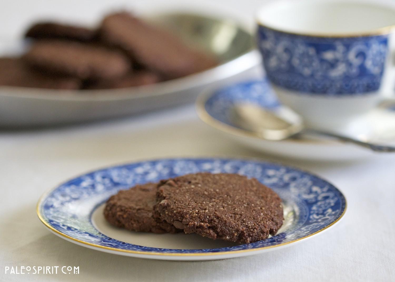 Paleo Mocha Chocolate Chip Cookies