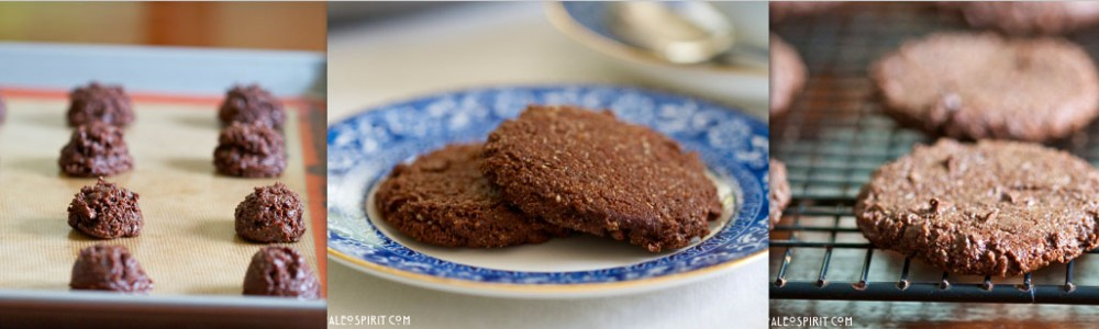 Mocha Cookies Header