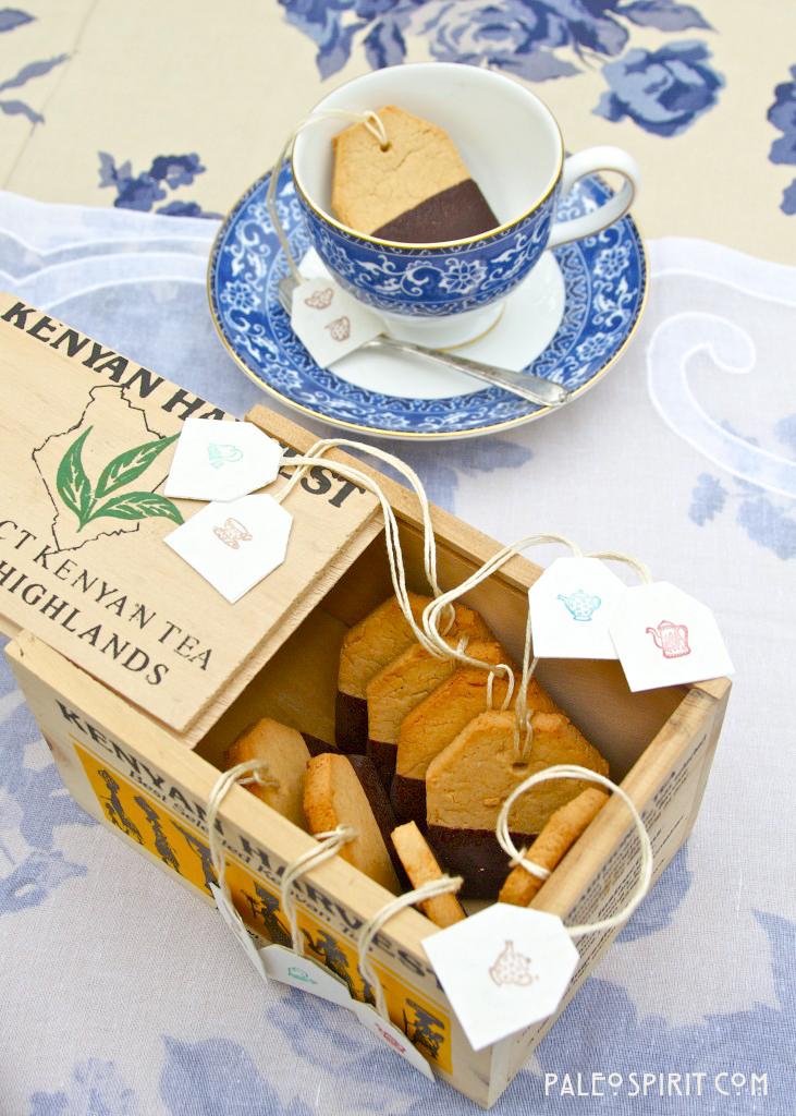Paleo Tea Cookies:: PaleoSpirit.com