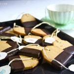 Paleo Shortbread Tea Bag Cookies