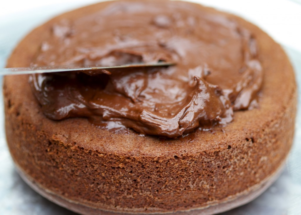 Chocolate Bacon Frosting