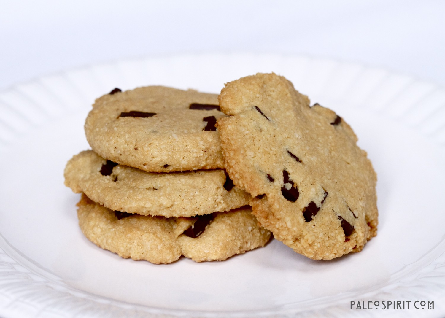 Paleo Chocolate Chip Cookies wm