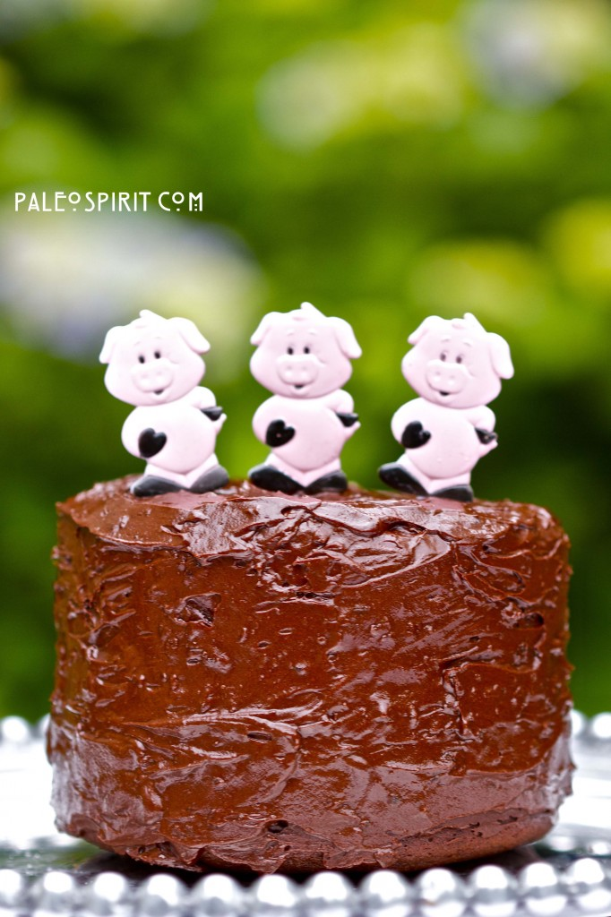 Paleo Spirit: Chocolate Ganache Bacon Frosting