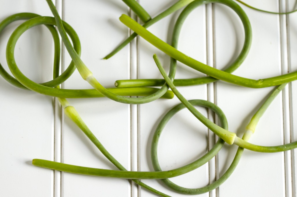 garlic scapes