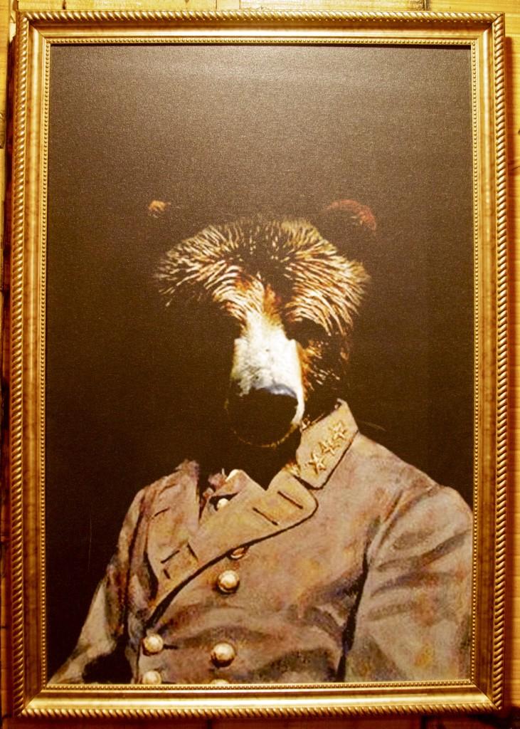 Bareburger bear painting