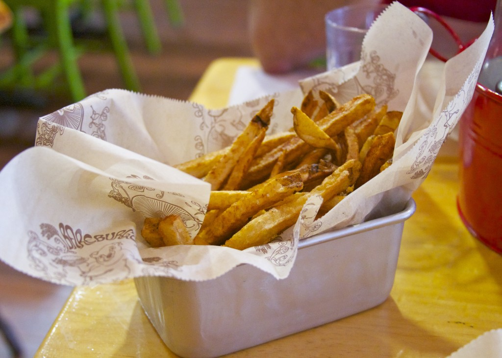 Bareburger gluten-free fries