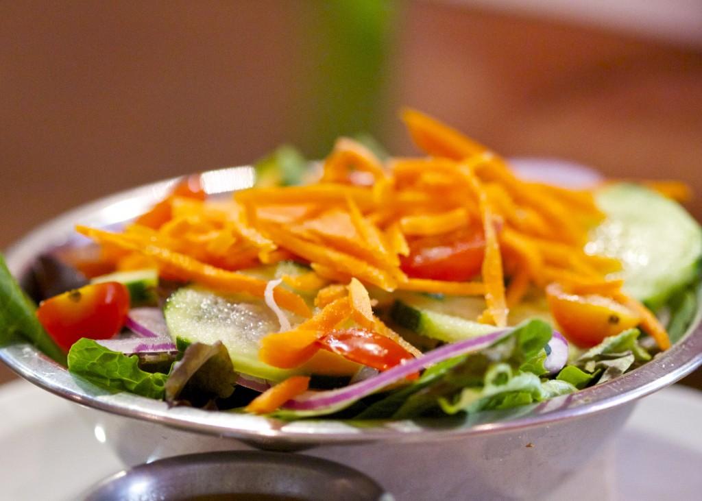 Bareburger garden salad