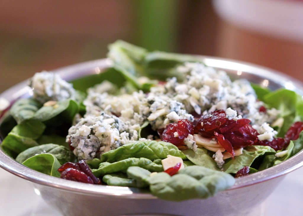 Bareburger Spinach salad