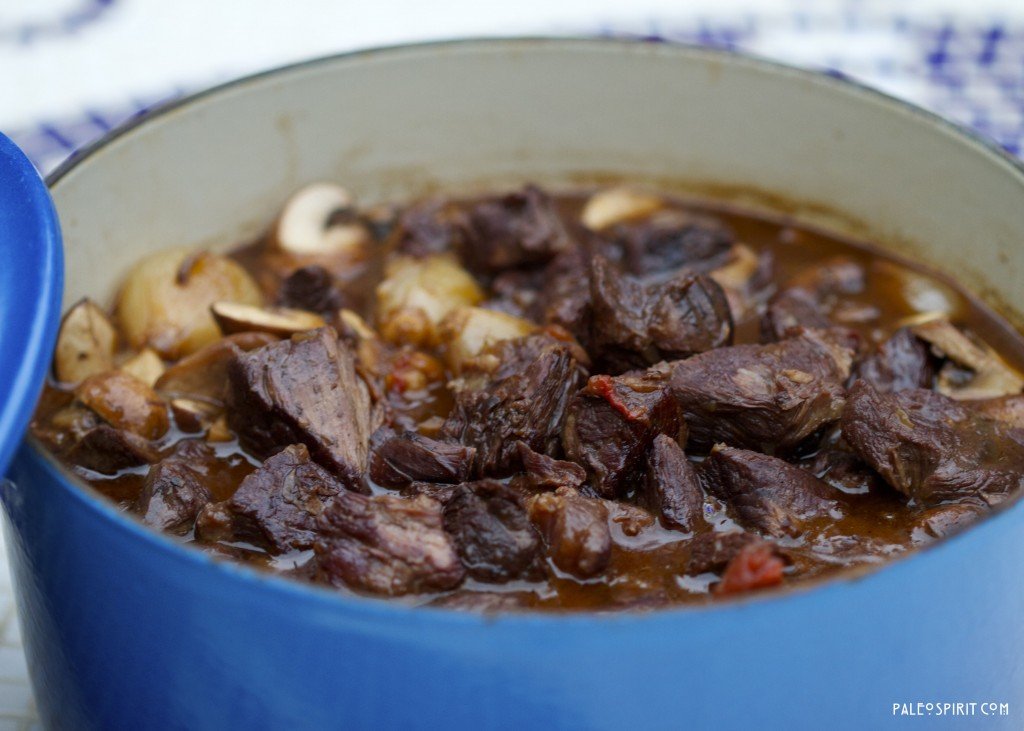 Julia Child's Boeuf Bourguignon - Gluten-free
