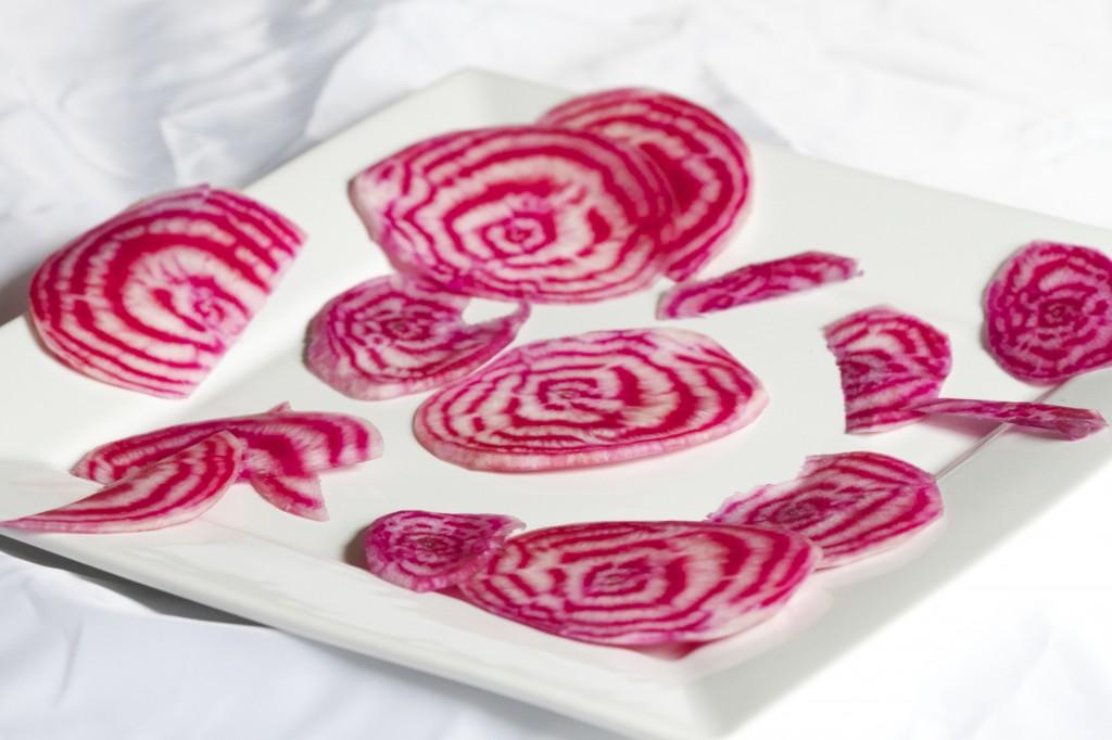 chiogga beet slice