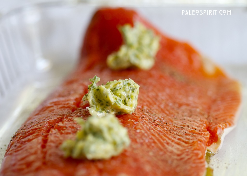 Wild Salmon with Dill Lemon Sauce