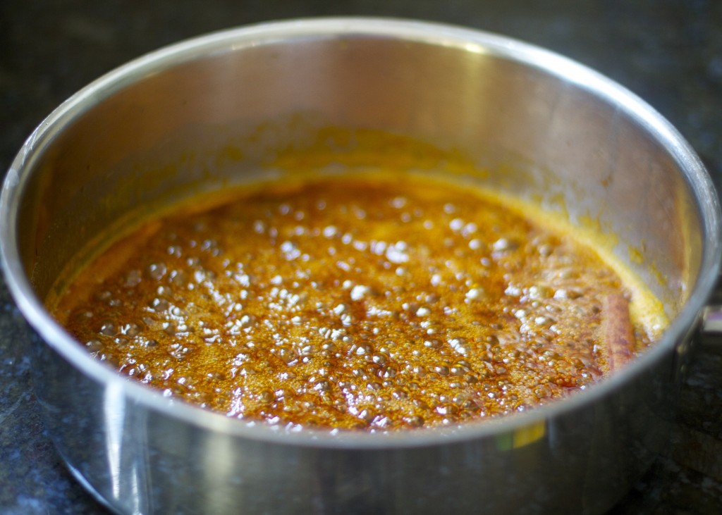 Chipotle Orange Sauce in pan