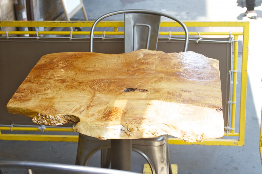 Bareburger Wooden Table