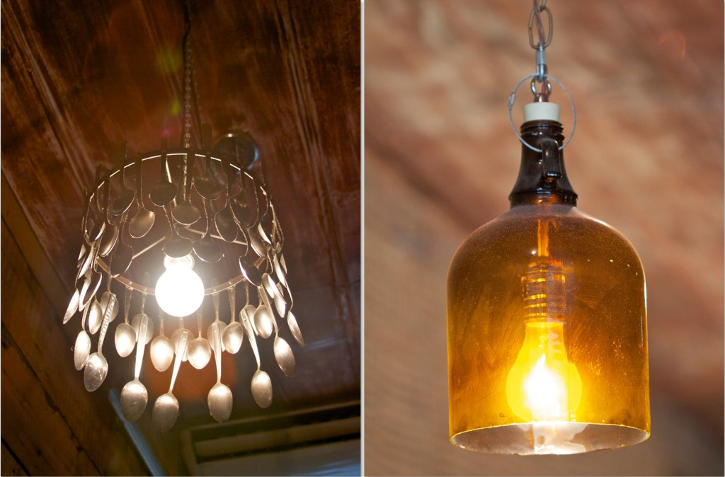 Bareburger light fixtures