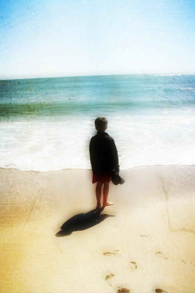 N on beach