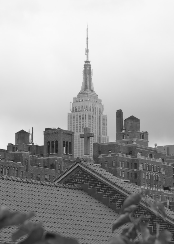 Empire State Building from The High Line: PaleoSpirit.com