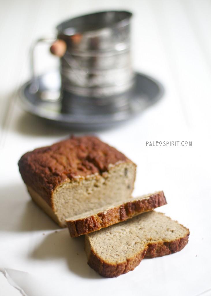 Paleo Banana Cardamom Bread