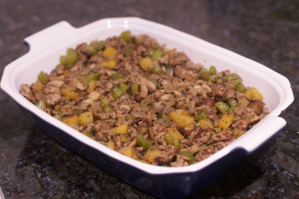 Paleo Thanksgiving Stuffing: PaleoSpirit.com