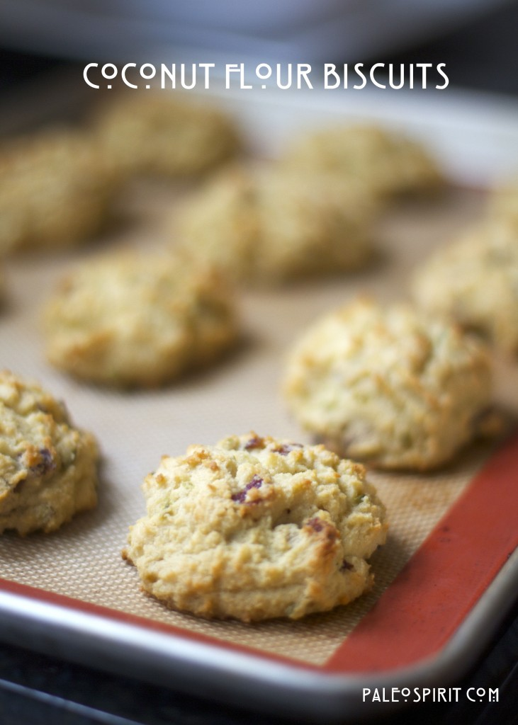 Coconut Flour Paleo Biscuits