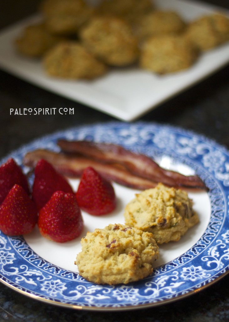 Coconut Flour Paleo Biscuits:: PaleoSpirit.com