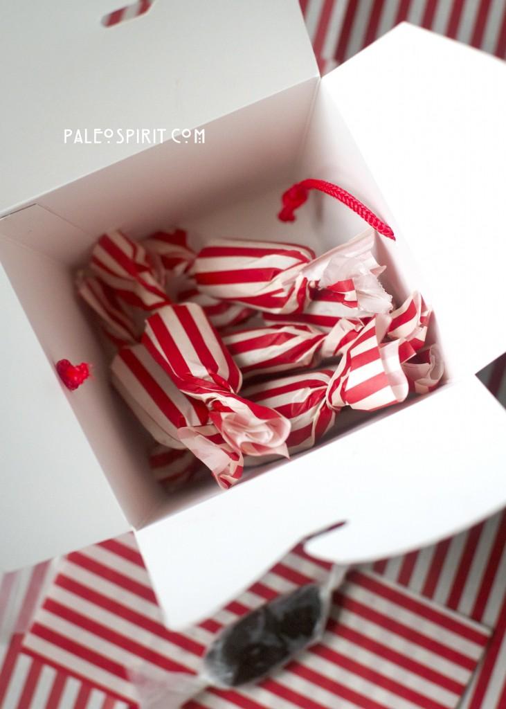 paleo salted caramels