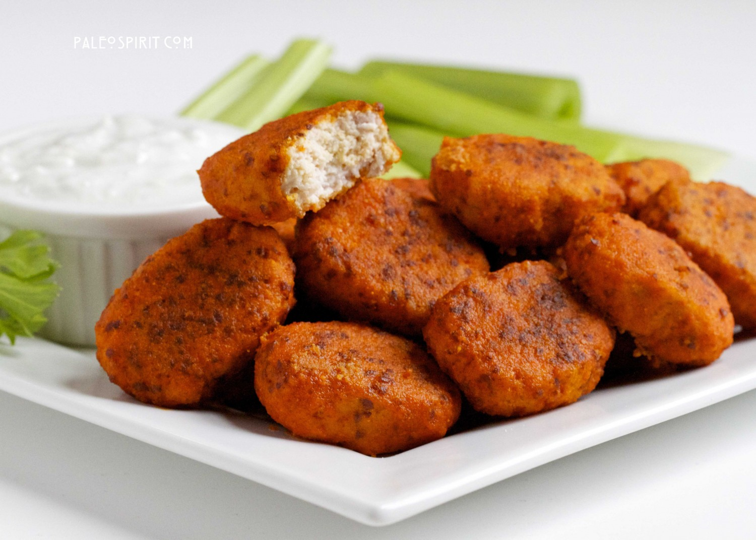 These paleo buffalo chicken nuggets are surprisingly tasty! (Our ...