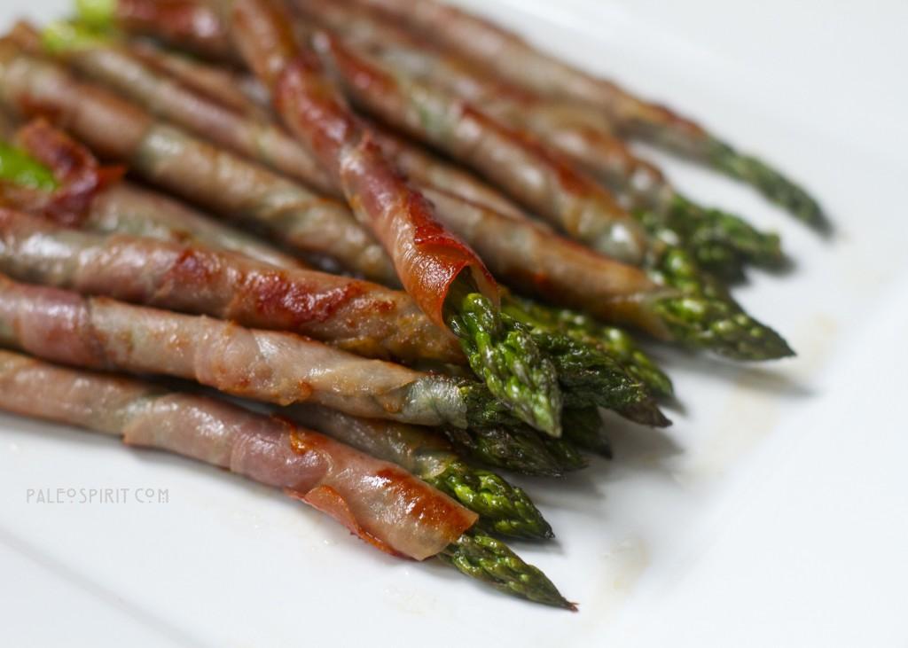 Prosciutto-Wrapped Asparagus: Paleospirit.com
